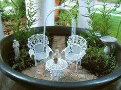 Miniatuur tuintje - mini garden
