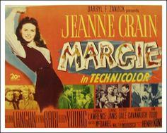 Margie (1946)  Jeanne Crain, Glenn Langan. Watched January 2012, TCM