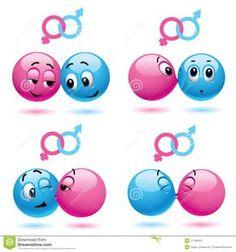 De ballen van Smiley vector illustratie. Afbeelding bestaande uit emotie - 11728355
