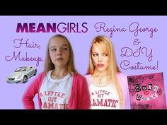 mean girls regina george makeup hair diy halloween costume - Halloween Quote Mean Girls