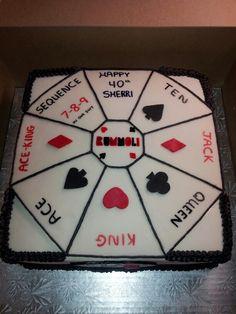 Rummoli cake