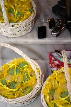 Rise Baskets Yellow Wedding, Palak Paneer, Baskets, Ethnic Recipes, Food, Hampers, Essen, Basket, Meals