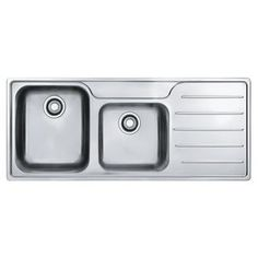 Clarke 1120mm Inset Kitchen Sink - no taphole | Kitchen ...