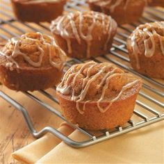 Enjoy your evening with Cinnamon tastiest Muffins.Cinnamon Sweet Potato Muffins Recipe from Taste of Home -- shared by Christine Johnson of Ricetown, Kentucky Sweet Potato Cinnamon, Sweet Potato Muffins, Sweet Potato Cupcakes, Potato Pie, Sweet Potato Dessert, Sweet Potato Breakfast, Breakfast Muffins, Mini Muffins, Potato Casserole