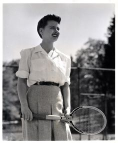 I want to play tennis