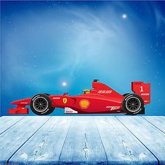 Full colour #formula 1 f1 race car wall art sticker boys #decal transfer #mural 2,  View more on the LINK: http://www.zeppy.io/product/gb/2/321410294998/