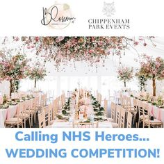 Happy Global Love Day// Chippenham Park and @blossomweddingplanning have teamed together to create this amazing competition for NHS Heroes. ——————————————————— Do you work for the NHS? Are you engaged and looking for your ideal wedding venue? Are you available on Wednesday, 7th April 2021? ——————————————————— If so, enter our competition to be in with a chance of winning Chippenham Park for your venue hire and full wedding planning by Natasha at @blossomweddingplanning. An incredible list of… Working For The Nhs, Do You Work, Love Days, Wednesday, Competition, Wedding Venues, Wedding Planning, The Incredibles, Park