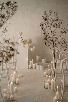 Ceremony Backdrop, Ceremony Decorations, Wedding Ceremony, Church Wedding, Minimalist Wedding Decor, Minimal Wedding, Floral Wedding, Wedding Flowers, Flower Installation