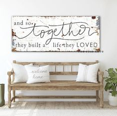 Country Farmhouse Decor, Farmhouse Artwork, Primitive Country, Country Homes, Rustic Farmhouse Entryway, Country Wall Decor, Vintage Farmhouse Decor, Rustic Wall Decor, Bedroom Signs