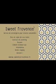 Carte De Visite Lieux Sucre Doux Provence Portrait