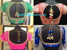 Silk Saree Blouse Designs photo