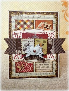just love this card!!!!!  made by Romy