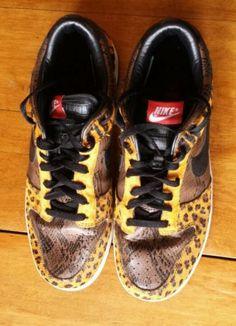 Nike Dunk Low Premium Safari x Animal Pack US Sz 10 5