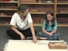 Part 1: Multiplication Fact Practice with Montessori Bead Bars