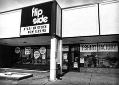 The Flip Side Record Stores. Lost stores of Chicago