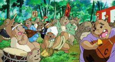 Pompoko - Studio Ghibli