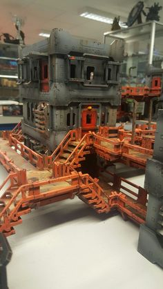 The Hab Block phase II from MAD Gaming Terrain
