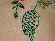 umacheenu: Bouquet of Flowers with Brazilian Embroidery