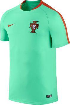 684408afc The Portugal Euro 2016 Pre-Match Shirt boasts a spectacular design