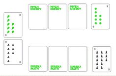 """Math card games from Eureka math (Engage NY). My SPED students are loving """"make Second Grade Math, First Grade Math, Ixl Math, Engage Ny Math, Math Card Games, Eureka Math, Math Intervention, Math Addition, Math Workshop"""