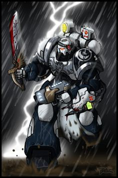 He is the emprah's will made manifest. . . There is no Space Marine more zealous (or fanatical as some might put it) then Brother Falco of the Eternal Legion. He charges into battle, giving no quar...