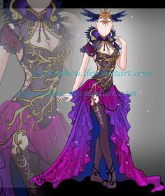 Outfit ADOPT 87 [ Auction ] [ CLOSED ] by GattoAdopts.deviantart.com on @DeviantArt