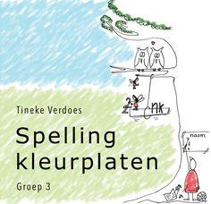 Spellingkleurplaten - groep 3 Kids Education, Circuit, Classroom, Letters, Teaching, Children, Fun, Dyslexia, Astronauts