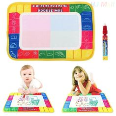 Kids Drawing Toys Colorful Water Drawing Mat Magic Water Pen Drawing Board Baby Play Mat Educational Toys For Children #>=#>=#>=#>=#> Click on the pin to check out discount price, color, size, shipping, etc. Save and like it!