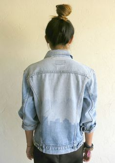 The Vintage Levi's Skyline Silhouette Jacket $125.00