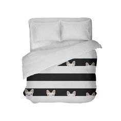 Just released this limited edition Bedding W/ Peekin....Get yours now, supply is limited. http://thefrenchiestore.com/products/bedding-w-peeking-white-frenchie?utm_campaign=social_autopilot&utm_source=pin&utm_medium=pin