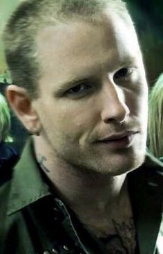 Corey Taylor of Stone Sour and Slipknot. Just saw him on his acoustic/talking tour. Hot, smart and talented.