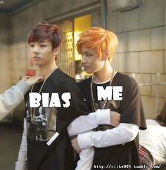 Quando eu conhecer meus bias...