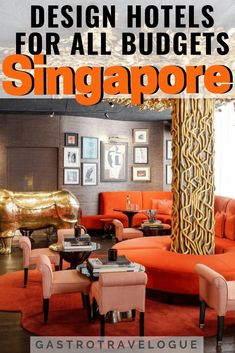 Gorgeous Design Hotels in Singapore – Gastrotravelogue Singapore Travel, Singapore Singapore, Malaysia Travel, Hotels And Resorts, Best Hotels, Florida Hotels, Marriott Hotels, Savannah Hotels, Luxury Resorts