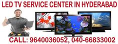 Servicecentersinhyderabad.com offers Reliable DoorStep LED TV Home Appliance Repair Services in Hyderabad and Secunderabad.Same day Service with 24*7 Support. Call Us now : 9640036052