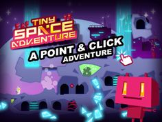 First adventure of our Tiny Robot. Lost in unknown planet, he has to find a way to escape... Mini point and click game for kids, but not only :)  AppStore Link: https://itunes.apple.com/us/app/tiny-space-adventure/id805497452?ls=1mt=8at=11lb2f