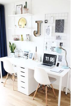 /yvondouben/ Ikea Workspace, Ikea Office Chair, Ikea Home Office