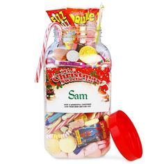 Crowther Personalised Christmas Sweetie Jar - Large A huge 4.5 litre jar packed with your favourite retro sweets and a special seasonal personalised label The jar is loaded with 22 varieties of your favourite classic sweets including: Parma Violets, Re http://www.MightGet.com/january-2017-13/crowther-personalised-christmas-sweetie-jar--large.asp