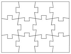 Jigsaw puzzle templates FREE downloads
