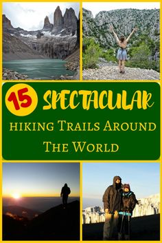 15 epic hiking trails from around the world to add to your bucket list. From a…