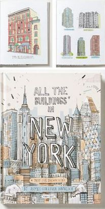All the Buildings In NY Book #anthrofave