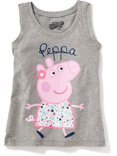 ™ Peppa Pig Graphic Tank for Baby Peppa Pig Birthday Outfit, Peppa Pig Outfit, Peppa Pig Shirt, Birthday Party Outfits, Peppa Pig Clothes, Birthday Fun, Cute Squishies, Girls Clothes Shops, Models