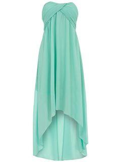 Mint Hi Low Dress