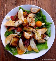 Lunch salad / www.52weeksofdeliciousness.com