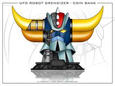 Goldorak wallpaper Robot Cartoon, Cartoon Tv, Mekka, Super Robot, Gundam, Dragon Ball, Manga Anime, Laser, Sketches