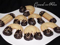 Cocinando con Kisa: Pastas de herradura con chocolate (thermomix y horno tradicional)
