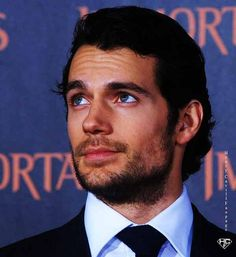 """Man of """"Steele"""" Henry Cavill as Superman then as Christian Grey!"""