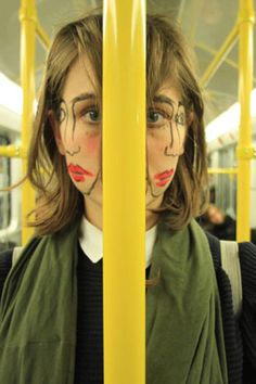 Doublefaced by sebastian bieniek, LOVE!