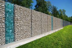 Image result for glass gabion