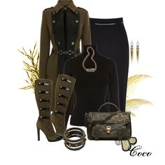"""""""Military Style"""" by coco-cris-1 on Polyvore"""