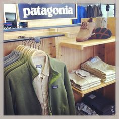 So ready for cooler temps, combine a Patagonia fleece jackets with a nice plaid shirt, and add some Olukai shoes #falliscoming